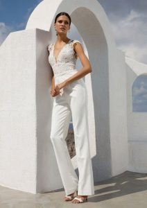 bridal outfit