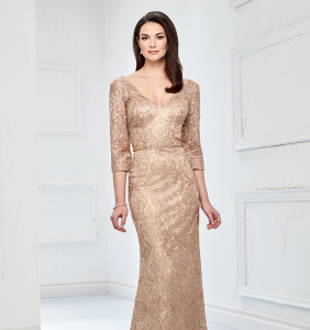 mother of the bride outfits and evening dress