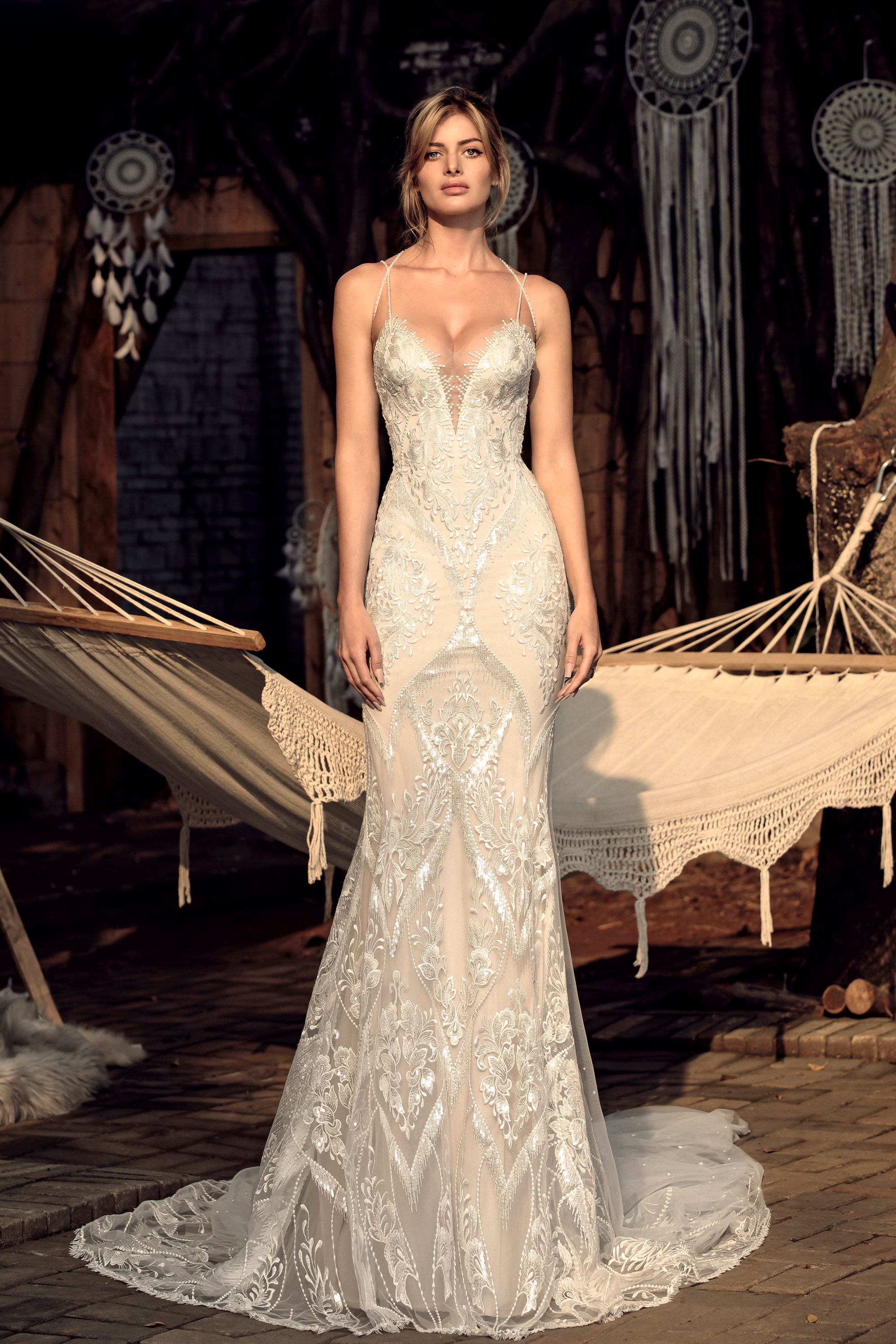 Chic Nostalgia designer wedding dress boho style