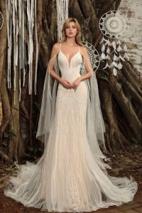 Chic Nostalgia designer wedding dress collection boho style