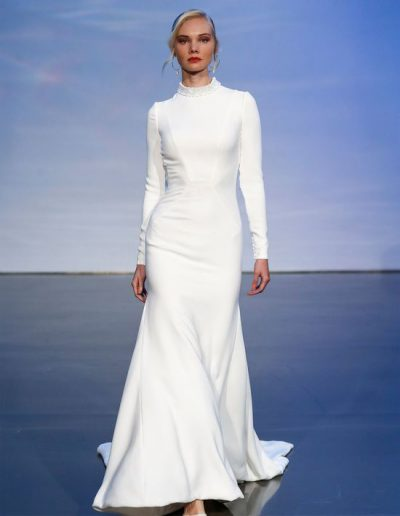 wedding dress-justin alexander signature collection