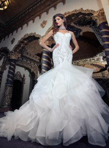 bridal gown by yumi-katsura couture