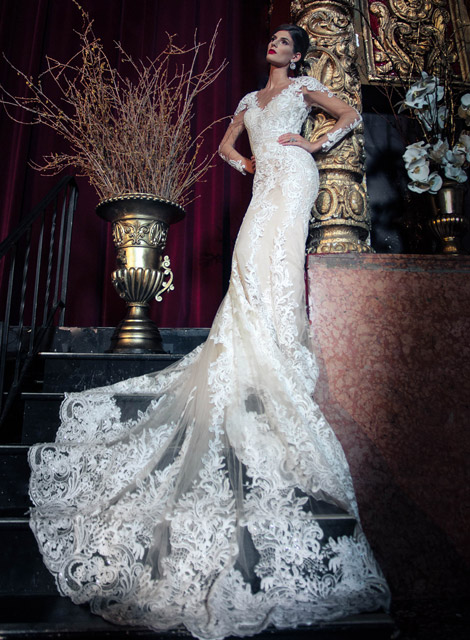 designer wedding dress by yumi-katsura couture