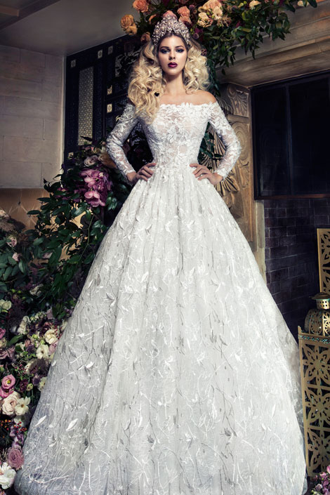 designer bridal gown by yumi-katsura couture