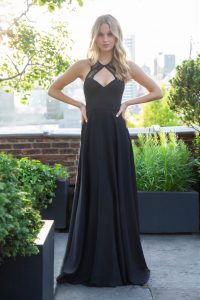 bridesmaid-dress-hayley-paige-black-lace