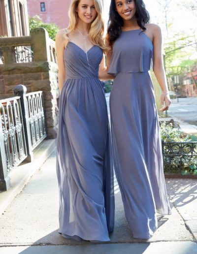 bridesmaid-dress-hayley-paige-chiffon-overlay-on-bodice-natural-waist
