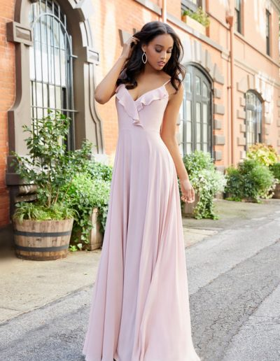 bridesmaid-dress-hayley-paige-palepink-flare