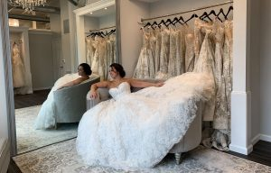 buying wedding dress experience
