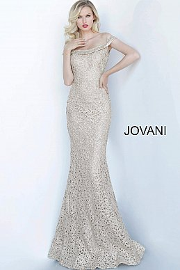 jovani-mother-evening-dress-Gold-Off-the-Shoulder-Fitted