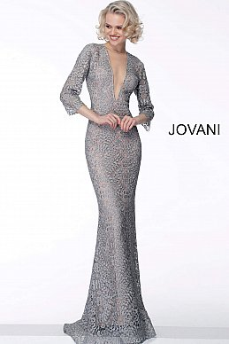 jovani-mother-dress-Lace-fabric-with-heat-set-stones