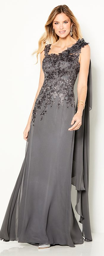 mother-evening-dress-by-moncheri one-shoulder-chiffon