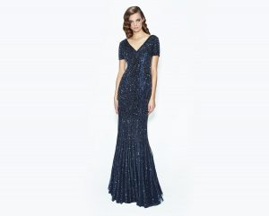 mother of the bride evening dress sparks navy