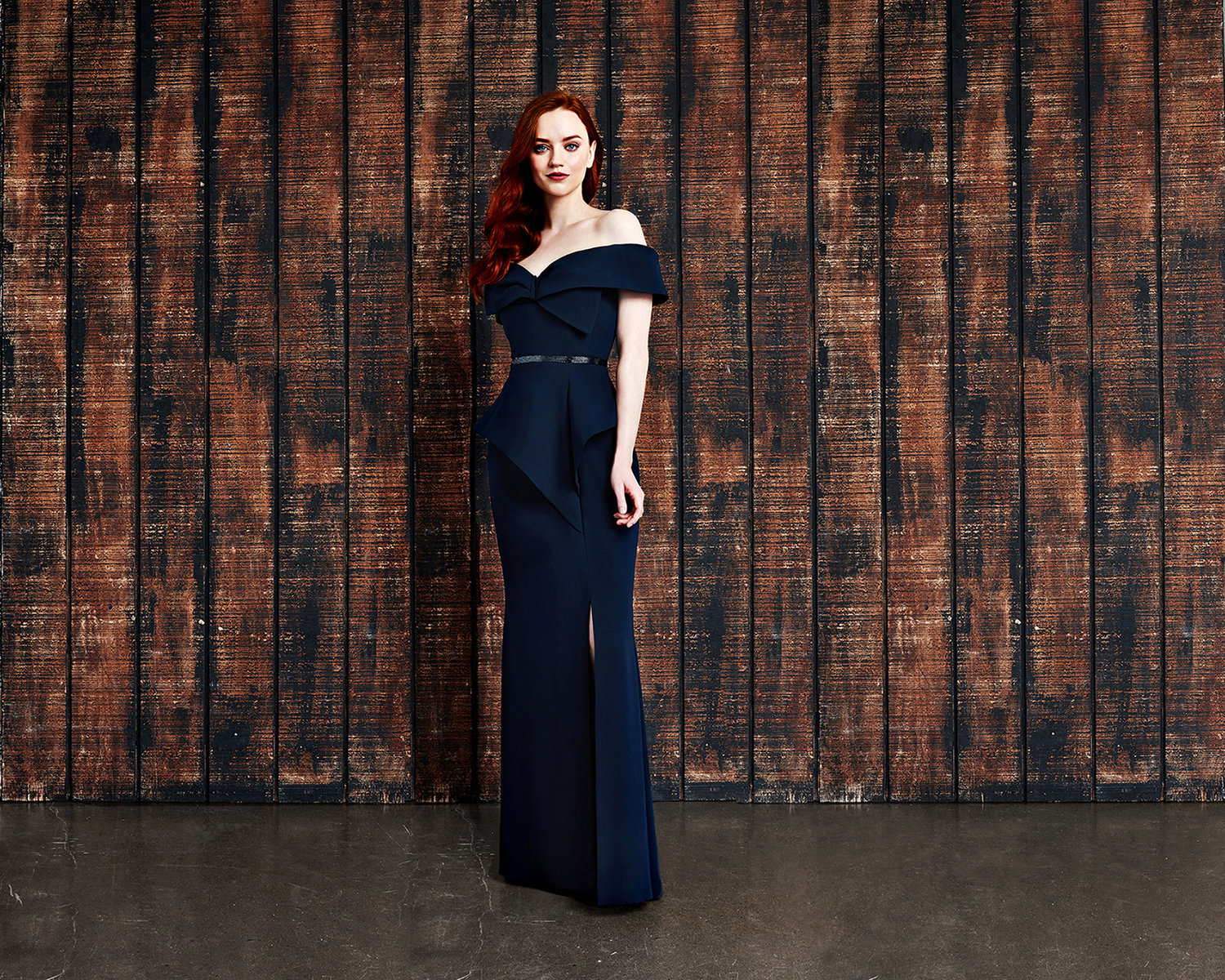 mother-evening-dress-strapless-navy