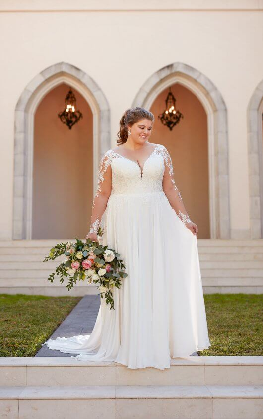 plus-size-wedding-dress-long-sleeves