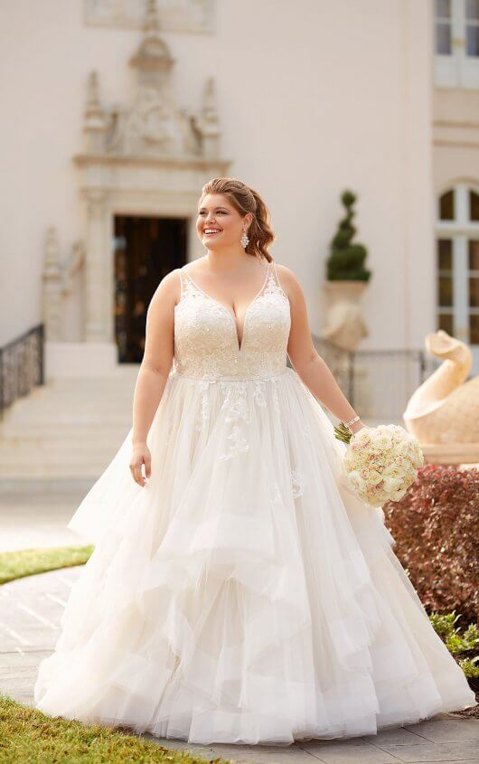 plus-size-wedding-dress-ballgown-vneck