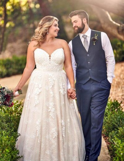 large-size-wedding-dress-no-sleeve