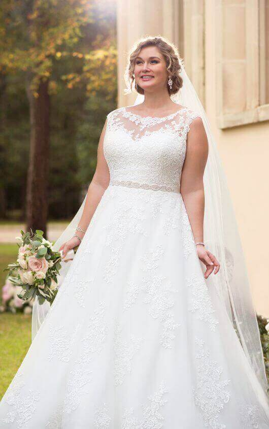plus-size-wedding-dress-traditional-ballgown