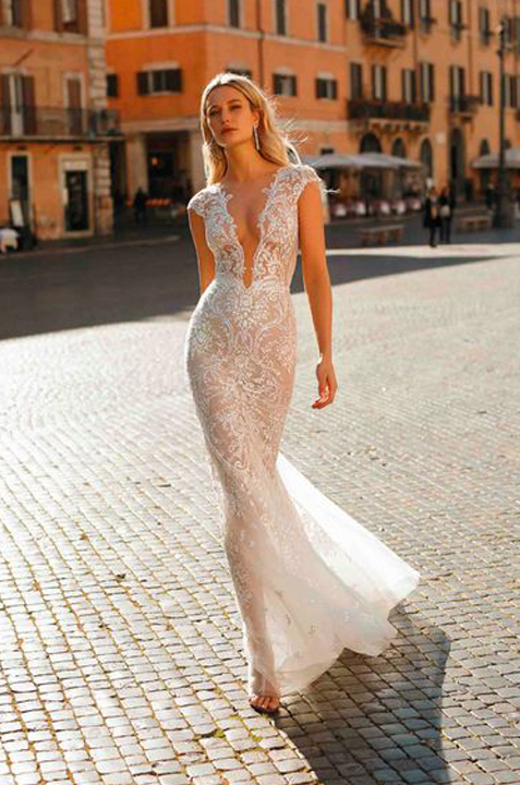 BERTA-PRIVEE-seethrough-lace-SEXY-wedding-dress